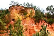 Parc Naturel Régional du Luberon, in the Vaucluse department in the Provence-Alpes-Côte d'Azur region in southeastern France.