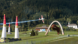 06.09.2015, Red Bull Ring, Spielberg, AUT, Red Bull Air Race, Spielberg, Rennen, im Bild Paul Bonhomme (GBR) // Paul Bonhomme of Great Britain during the race of Red Bull Air Race Championships 2015 at the Red Bull Ring in Spielberg, Austria on 2015/09/06. EXPA Pictures © 2015, PhotoCredit: EXPA/ JFK