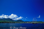 Basseterre Harbor, St Kitts,<br /> ( Eastern Caribbean Sea )