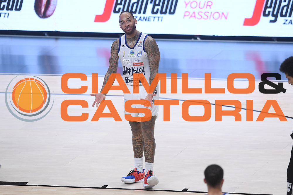 Harrison D'Angelo<br /> Segafredo Virtus Bologna - Happy Casa Brindisi<br /> Semifinali - Gara 3<br /> Legabasket Serie A UnipolSAI 2020/2021<br /> Bologna, 02/06/2021<br /> Foto GiulioCiamillo / Ciamillo