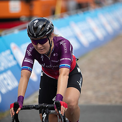 WIJSTER (NED) June 19: <br /> CYCLING <br /> Dutch Nationals Road WOMEN up and around the Col du VAM<br /> Amy Pieters wins the Dutch Title women elite