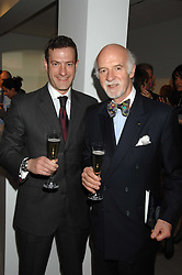 Left to right, PHILIPP MOSIMANN and his father chef ANTON MOSIMANN at the Montblanc de la Culture Arts Patronage Award 2008 presented to Louise Blouin MacBain at the Louise Blouin MacBain Institute, 3 Olaf Street, London W11 on 16th April 2008.<br /><br />NON EXCLUSIVE - WORLD RIGHTS