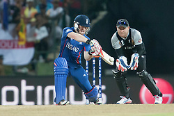 © Licensed to London News Pictures. 29/09/2012. Eoin Morgan batting during the T20 Cricket World super 8's match between England Vs New Zealand at the Pallekele International Stadium Cricket Stadium, Pallekele. Photo credit : Asanka Brendon Ratnayake/LNP