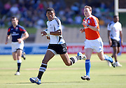 Fiji's William Ryder over for a try during the IRB Rugby Sevens tournament held at Adelaide Oval,Adelaide, South Australia,Saturday, April 5, 2008.<br /> Photo;Michael Oakes/SMP<br /> Conditions of Use: This image is intended for editorial use only (EG: news or commentary, print or electronic).  Any commercial or promotional use requires additional clearance.  Please contact for details.
