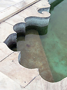Pool coping, Taj Mahal, Agra.