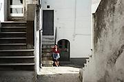 Anna Serafina Longo, 40enne, assiste la madre anziana, Orsara di Puglia 3 Maggio 2014.  Christian Mantuano / OneShot
