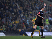 Photo: Ashley Pickering.<br />Norwich City v Coventry City. Coca Cola Championship. 24/02/2007.<br />Referee Andy D'Urso