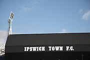 Ipswich Town Football Club ground, Brittania stand, Ipswich, Suffolk, England