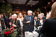 LORD HESELTINE;  , Book launch for ' Daughter of Empire - Life as a Mountbatten' by Lady Pamela Hicks. Ralph Lauren, 1 New Bond St. London. 12 November 2012.