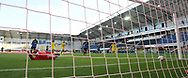 GOAL Tor zum 1:4 durch HAKIMI, BVB, Hintertor, Remote during the Paderborn vs Borussia Dortmund Bundesliga match at Benteler Arena, Paderborn, Germany on 31 May 2020.