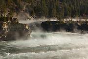 Kootenai Creek Falls near Libby, Montana.