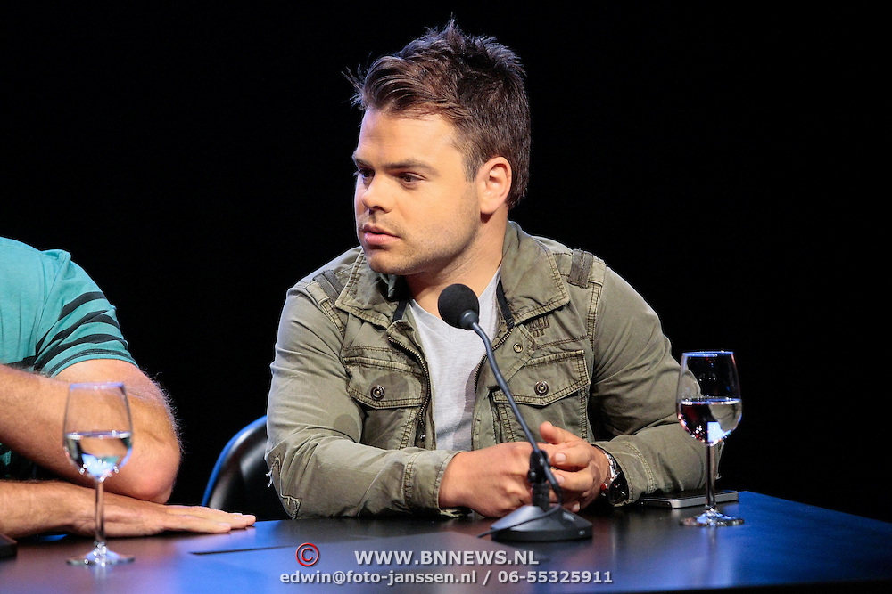 NLD/Hilversum/20120821 - Perspresentatie 3de seizoen The Voice of Holland 2012 / 2013, Roel van Velzen