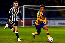 Kellan Gordon of Mansfield Town runs with the ball - Mandatory by-line: Ryan Crockett/JMP - 09/11/2019 - FOOTBALL - One Call Stadium - Mansfield, England - Mansfield Town v Chorley - Emirates FA Cup first round