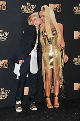 Gigi Gorgeous at the 2017 MTV Movie And TV Awards held at The Shrine Auditorium on May 7, 2017 in Los Angeles, California.<br /><br />(Photo by Sthanlee Mirador) *** Please Use Credit from Credit Field ***