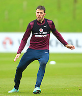 Michael Carrick of England - England Training & Press Conference - UEFA Euro 2016 Qualifying - St George's Park - Burton-upon-Trent - 11/11/2014 Pic Philip Oldham/Sportimage
