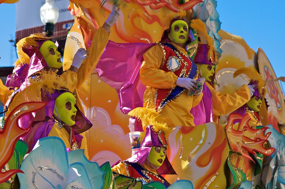 Rex Parade, Mardi Gras 2010, New Orleans