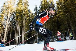 Benjamin Weger (SUI) during Men 12,5 km Pursuit at day 3 of IBU Biathlon World Cup 2015/16 Pokljuka, on December 19, 2015 in Rudno polje, Pokljuka, Slovenia. Photo by Vid Ponikvar / Sportida