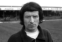 Joe Patterson, footballer, Distillery FC, Belfast, N Ireland, April, 1971, 197104000243<br />