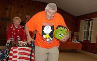 Laconia Elders Friendship Club Halloween Parade  October 26, 2011.