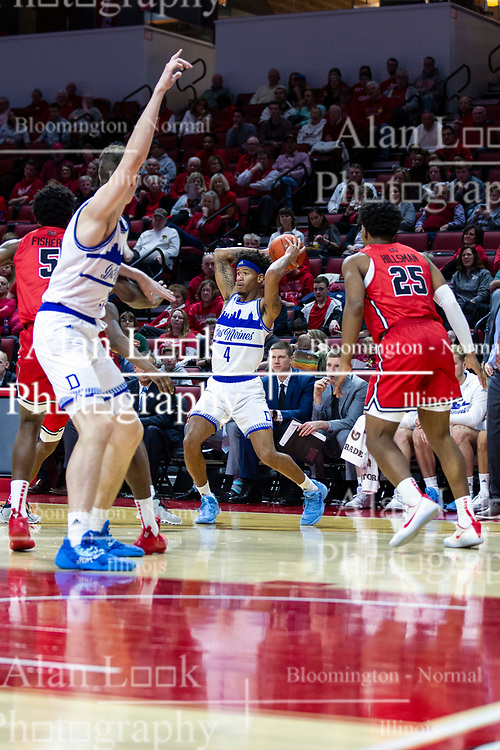 NORMAL, IL - February 22: Anthony Murphy during a college basketball game between the ISU Redbirds and the Drake Bulldogs on February 22 2020 at Redbird Arena in Normal, IL. (Photo by Alan Look)