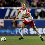 HARRISON, NEW JERSEY- November 06:  Aurelien Collin #78 of New York Red Bulls in action during the New York Red Bulls Vs Montreal Impact MLS playoff match at Red Bull Arena, Harrison, New Jersey on November 06, 2016 in Harrison, New Jersey. (Photo by Tim Clayton/Corbis via Getty Images)