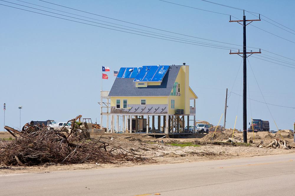 Sole Survivor of Hurricane Ike, Gilchrist, TX
