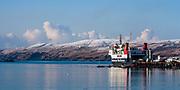 Caledonian MacBrayne ferry MV Hebridean Isles at Port Ellen