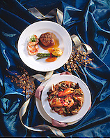 Steak and Shrimp and Crab Dinners