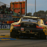 #56, Team Project 1, Porsche 911 RSR, LMGTE Am, driven by:  Jorg Bergmeister, Patrick Lindsey, Egidio Perfetti, 24 Heures Du Mans  2018, , 16/06/2018,