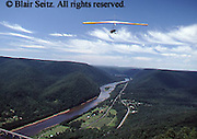 Outdoor recreation, Hang Gliding, Susquehanna River, West Ranch, Hyner View State Park