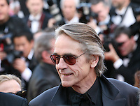 Jeremy Irons at the Killing Them Softly gala screening at the 65th Cannes Film Festival France. Tuesday 22nd May 2012 in Cannes Film Festival, France.