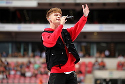 HRVY on stage during Capital's Summertime Ball. The world's biggest stars perform live for 80,000 Capital listeners at Wembley Stadium at the UK's biggest summer party. PRESS ASSOCIATION PHOTO. Picture date: Saturday June 8, 2019. Photo credit should read: Isabel Infantes/PA Wire