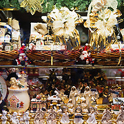 VENICE, ITALY - DECEMBER 08:  A shop selling Christmas sweets, chocolate and cakes is seen on December 8, 2011 in Venice, Italy. HOW TO LICENCE THIS PICTURE: please contact us via e-mail at sales@xianpix.com or call our offices in London   +44 (0)207 1939846 for prices and terms of copyright. First Use Only ,Editorial Use Only, All repros payable, No Archiving.© MARCO SECCHI