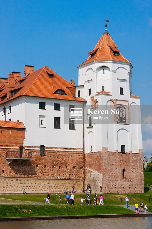 Mir Castle Complex, UNESCO World Heritage site, Belarus