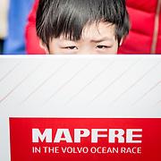 © Maria Muina I MAPFRE. Start of leg 6 from Guangzhou towards Hong Kong. Salida de la etapa 6 desde Guangzhou a Hong Kong.