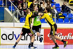 23.02.2018, BSFZ Suedstadt, Maria Enzersdorf, AUT, HLA, SG INSIGNIS Handball WESTWIEN vs Bregenz Handball, Bonus-Runde, 3. Runde, im Bild Viggo Kristjansson (SG INSIGNIS Handball WESTWIEN) // during Handball League Austria, Bonus-Runde, 3 rd round match between SG INSIGNIS Handball WESTWIEN and Bregenz Handball at the BSFZ Suedstadt, Maria Enzersdorf, Austria on 2018/02/23, EXPA Pictures © 2018, PhotoCredit: EXPA/ Sebastian Pucher