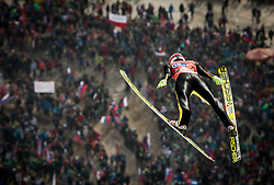Evgeniy Klimov (RUS) during Ski Flying Hill Men's Team Competition at Day 3 of FIS Ski Jumping World Cup Final 2017, on March 25, 2017 in Planica, Slovenia. Photo by Vid Ponikvar / Sportida