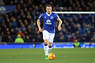 Phil Jagielka of Everton in action. Barclays Premier League match, Everton v Newcastle United at Goodison Park in Liverpool on Wednesday 3rd February 2016.<br /> pic by Chris Stading, Andrew Orchard sports photography.