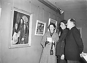 28/02/1955 <br /> 02/28/1955<br /> 28 February 1955<br /> Exhibition of Painting and Sculptures by Edward Delaney at the Little Theatre, Brown Thomas & Son, Grafton Street, Dublin.