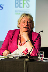 Pictured:  Kath Gordon (Lib Dem)<br /> <br /> Candidates from the five main parties faced questions at the Building Scotland's Future election hustings today. The panalists, Kath Gordon (Lib Dem), Marco Biagi (SNP), Monica Lennon (Labour), Ian McGill (Conservatives) and Maggie Chapman (Co-convenor of the Scottish Greens) were quizzed on issued affecting infrastructure and the build environment.  <br /> <br /> Ger Harley | EEm 19 April 2016