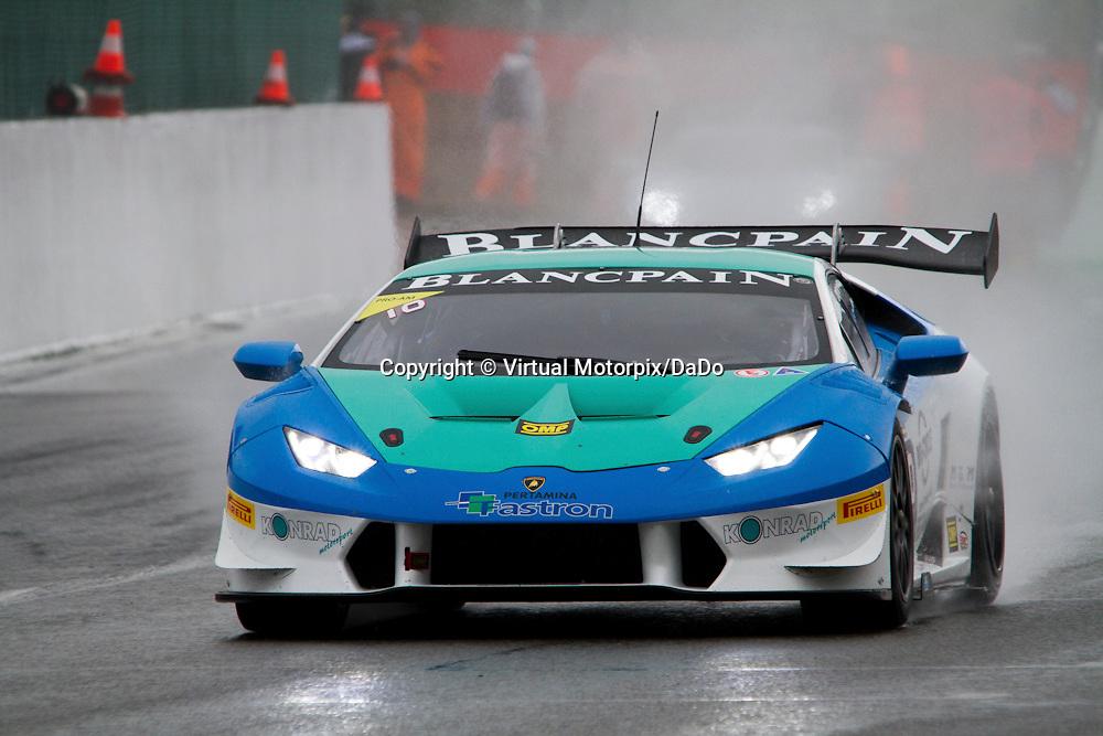 #10, Lamborghini Huracán, Konrad Motorsport, A.Amstutz , Lamborghini BlancPain Super Trofeo 2015