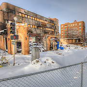 After the gas explosion that destroyed JJ's Restaurant at 48th & Belleview Avenue, Kansas City, Missouri - Feb 2013.
