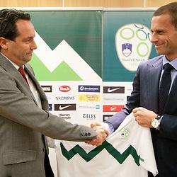 20111024: SLO, Football - New head coach of Slovenian National football team Slavisa Stojanovic