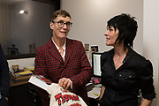 SOPHIE HICKS, SUE WEBSTER, Miss Sue Webster hosts the launch of her book <br /> 'I Was a Teenage Banshee' The Mole House , Dalston. 17 October 2019