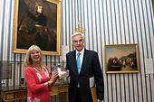 Prins Charles Bonaparte bezoekt de Hermitage in Amsterdam