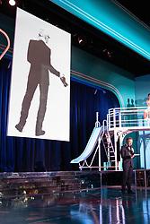 Tribute to German fashion designer Karl Lagerfeld by Stephane Bern during the Rose Ball 2019 at Sporting in Monaco, Monaco. Photo by Palais Princier/Olivier Huitel/SBM/ABACAPRESS.COM