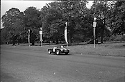 16/09/1967<br /> 09/16/1967<br /> 16 September 1967<br /> Phoenix Park Motor Racing, Kingsway Trophy Race, sponsored by Player and Wills (Ireland) Limited. Image shows D.J. Smithwick's A-H Sprite (30).