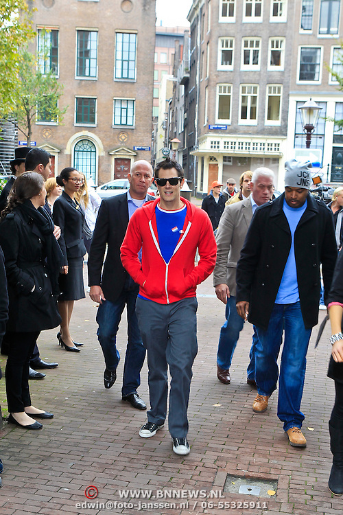 NLD/Amsterdam/20101029 - Photocall Jacass 3D met Johnny Knoxville
