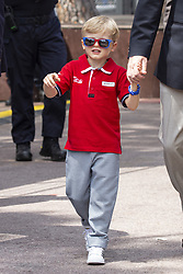 Jacques Grimaldi strolls along the pit lane at the 77th Monaco Grand Prix, Monaco on May 25, 2019. Photo by Marco Piovanotto/ABACAPRESS.COM