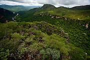 Alto Paraiso de Goias_GO, Brasil...Vista panoramica do Parque Nacional da Chapada dos Veadeiros...Panoramic view of Parque Nacional da Chapada dos Veadeiros...Foto: JOAO MARCOS ROSA / NITRO..